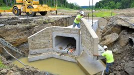 Stream Culvert Installation